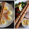 Lækker frokost med salat og æg