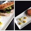 Sandwich med rullepølse, grønt og avocadosmør