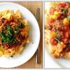 Chili pasta med kødsovs