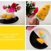 Hjemmelavet mango-passionsfrugt sorbet