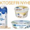 NYHED: Valio lancerer laktosefri skyr, cream cheese og yoghurt!