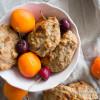 Laktosefri og glutenfri abrikos müsliboller