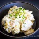 Laktosefri kartoffelsalat med skyr